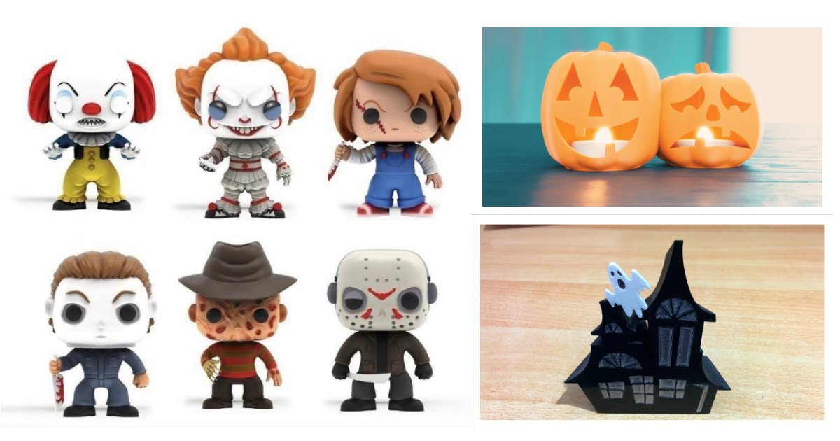 3D Printed Halloween: How 3D Printing Can Make for A Fun Halloween