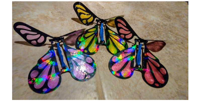 Flying Surprise Butterfly Prank Toy