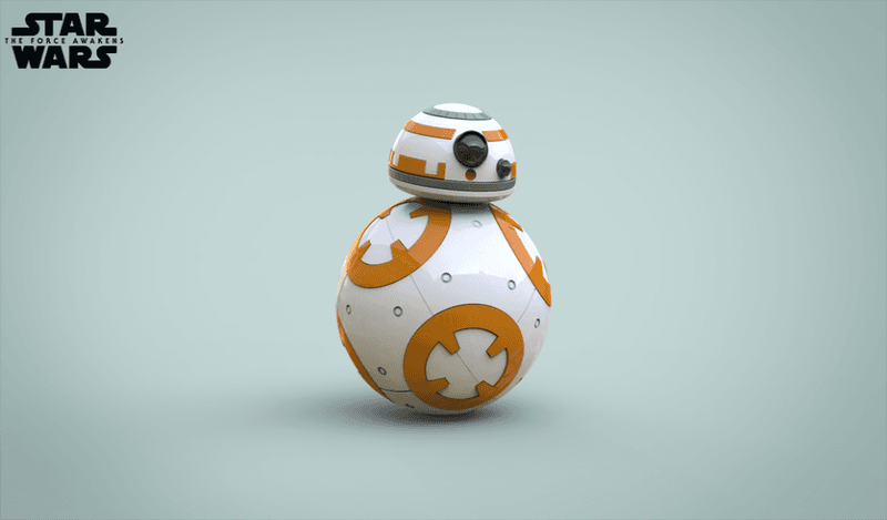 BB8 Droid - Star Wars: The Force Awakens