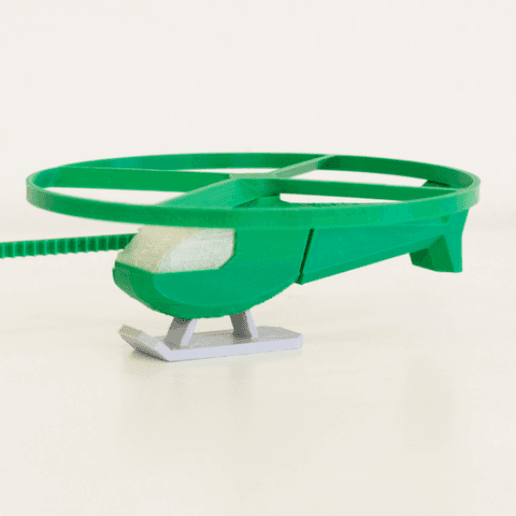 Multi-Color Flying Helicopter Toy