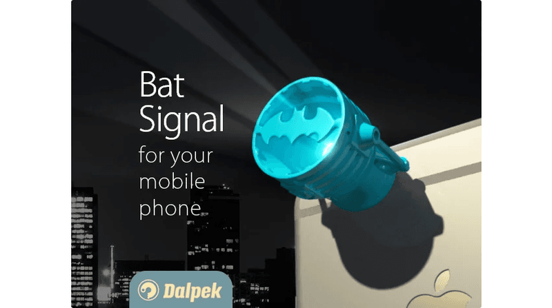 Bat-Signal for iPhone
